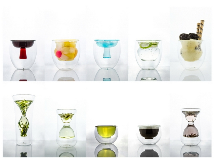 Glasses That Turn Your Cocktail Into Conceptual Art