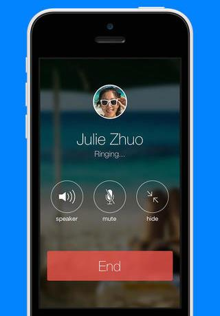 Facebook Messenger for iPhone updated with free calling support