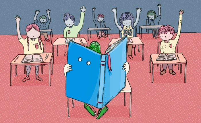 How to teach a youngintrovert